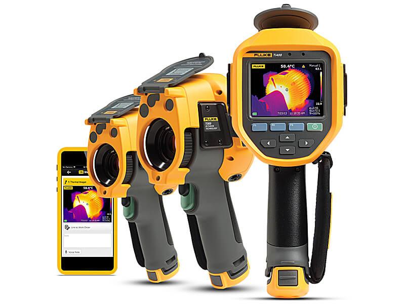 Detektor wycieków gazu Fluke Ti450 SF6