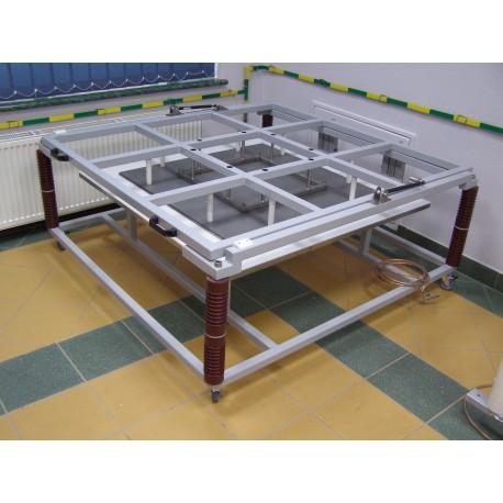 Stanowisko do badania mat i dywaników izolacyjnych ZD40