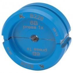KLAUKE matryce zaciskowe, blue connection B 22