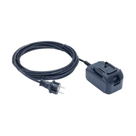 KLAUKE NG2, zasilacz sieciowy 18 V do napięcia sieciowego 120 V lub 230 V