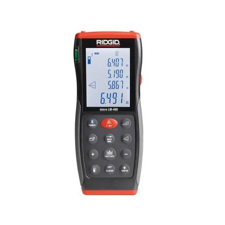 RIDGID LM-400 micro, zaawansowany odległościomierz laserowy