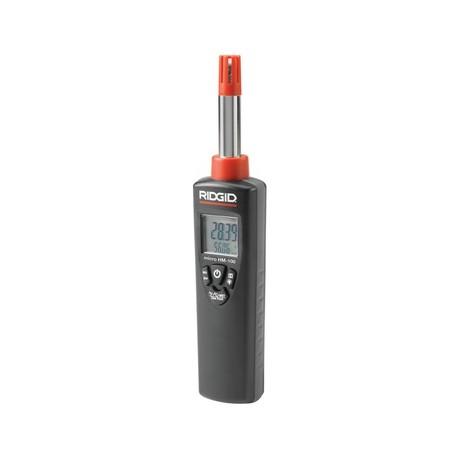 RIDGID HM-100 micro,  miernik temperatury i wilgotności powietrza