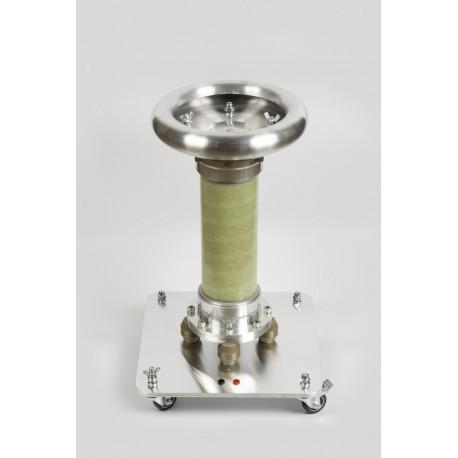 ISOFARAD kondensator sprzęgający do pomiarów WN IEC 60270 wyładowań niezupełnych