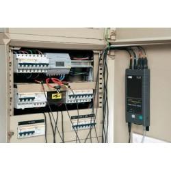 CA PEL 103 trójfazowy rejestrator parametrów energii elektrycznej z ekranem