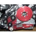 MARTIN KFZ pokładowy jednofazowy zestaw prądotwórczy 230V/400V/AC/50 Hz w pojazdach specjalnych napędzane paskiem klinowym