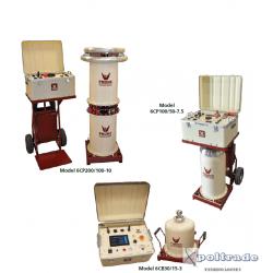 Seria generatorów probierczych wysokiego napięcia AC PHENIX 6CP oraz 6CB 15 do 200kV