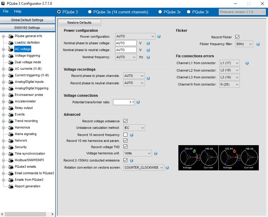 Konfigurator dla PQube3