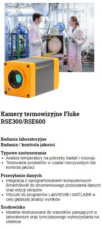 Porównanie kamer FLUKE RSE300 i RSE600